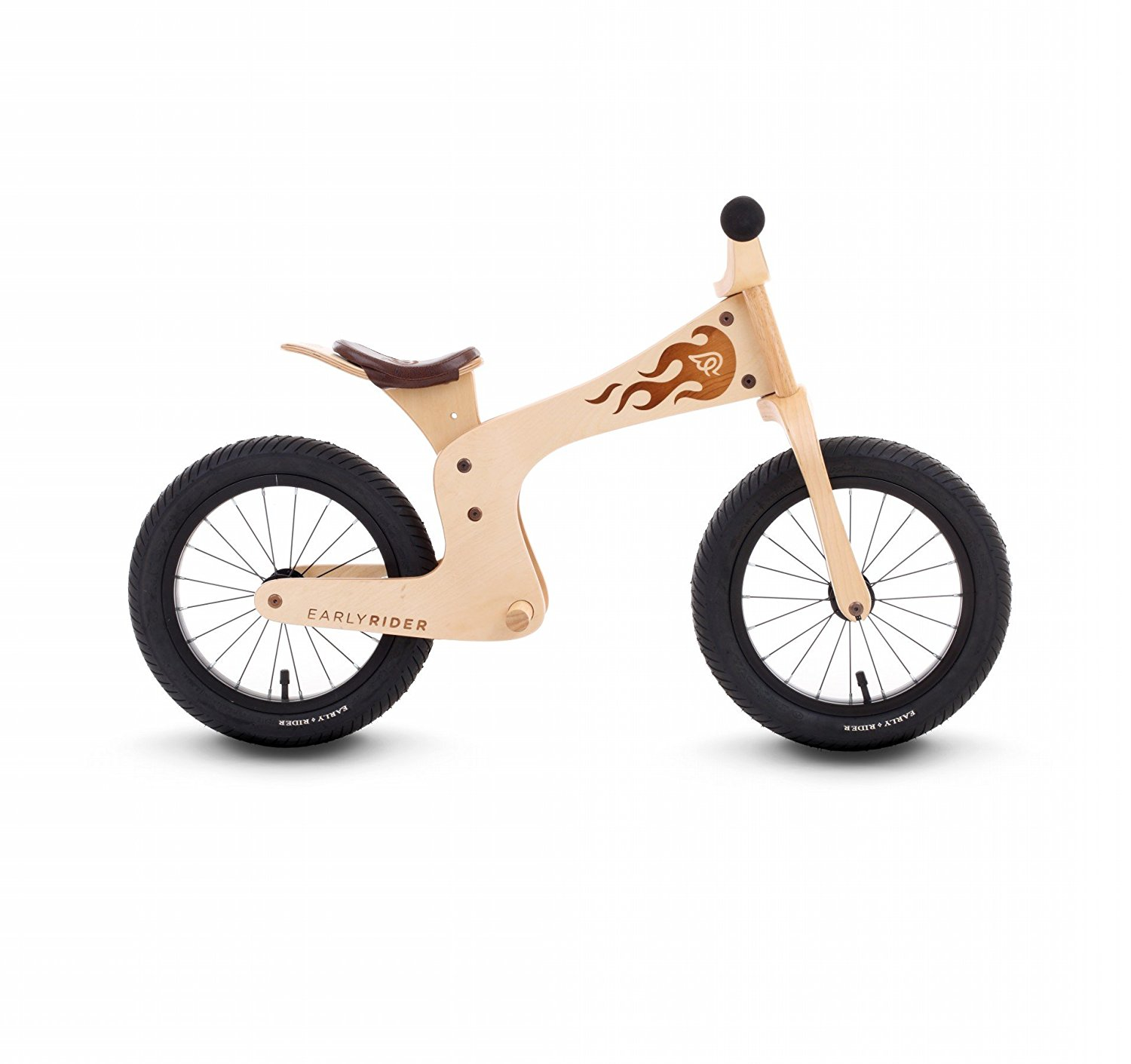 Early Rider Evo Birch Balance Bike - Brown, Age 3-5 Years