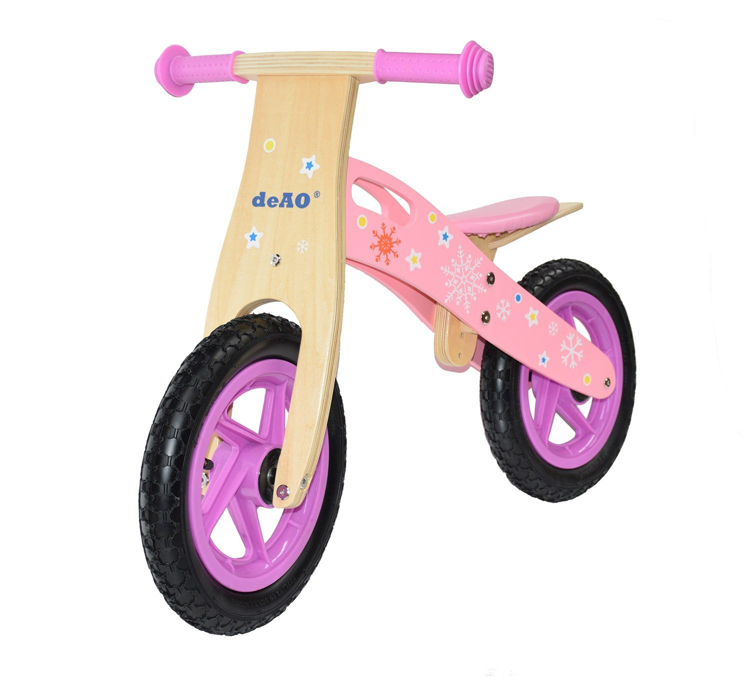 KIDS WOODEN BALANCE TRAINING BIKE CYCLE
