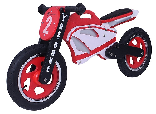 Duke Wooden Motorbike Balance Bike