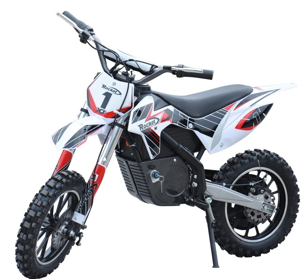 Kids Rocket DB500 Electric-Battery Scrambler Dirt Bike