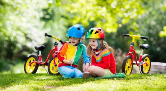 cycling with a toddler