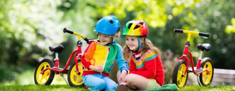 how to fit toddler bike helmet