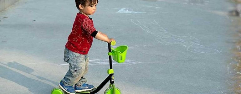 scooter or bike for 4 year old