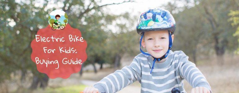 best electric bike for kids