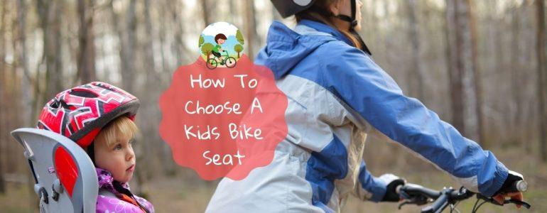 best kids bike seat