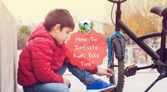 how to inflate kids' bike tire